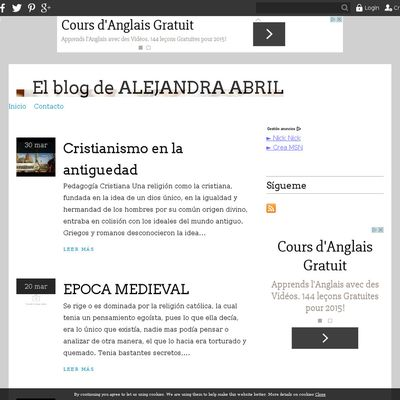 El blog de ALEJANDRA ABRIL