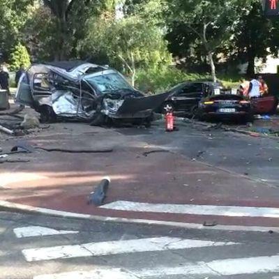 Pas de morts dans le terrible accident route de Mitry à Aulnay-sous-Bois