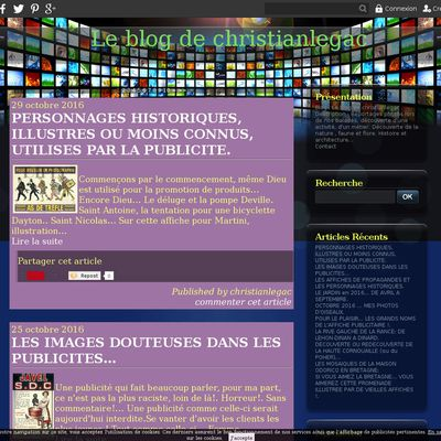 Le blog de christianlegac