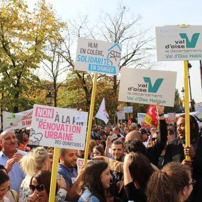 La Présidente de Val d'Oise Habitat se mobilise pour défendre le logement valdoisien et VOH