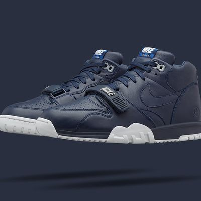 "fragment x Nike Air Trainer 1 Mid ""US Open"" Obsidian"