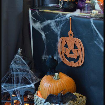 Décorer la maison pour halloween