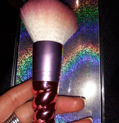 My new powder brush by Claire's