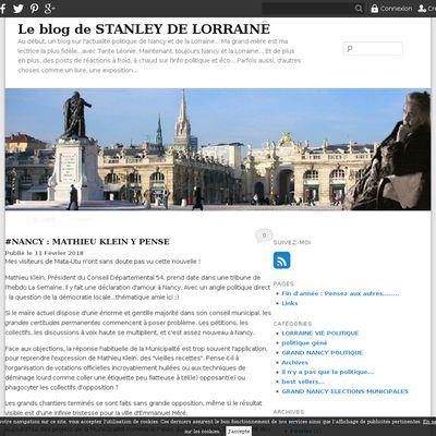 Le blog de STANLEY DE LORRAINE