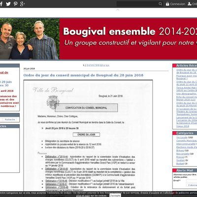 Le blog de Bougival Ensemble
