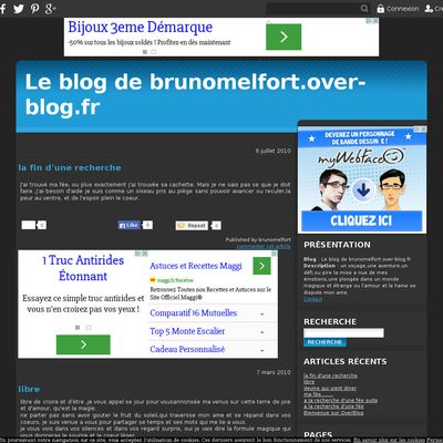 Le blog de brunomelfort.over-blog.fr