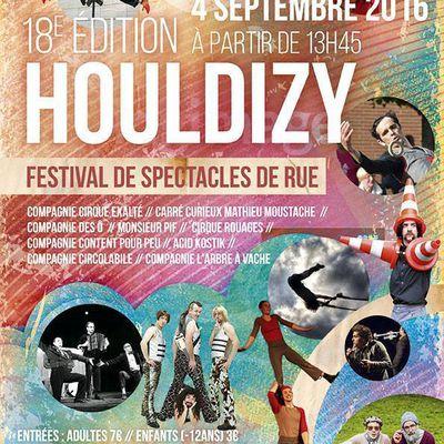 Houldizy : Festival théatre de Rue le 4/09/2016