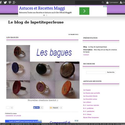 Le blog de lapetiteperleuse