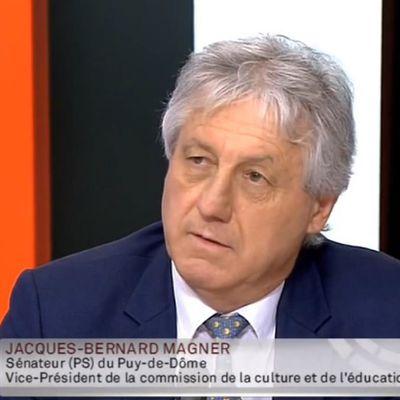 Jacques-Bernard Magner en débat sur Public Sénat sur la réforme des collèges