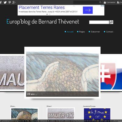 Europ'blog de Bernard Thévenet