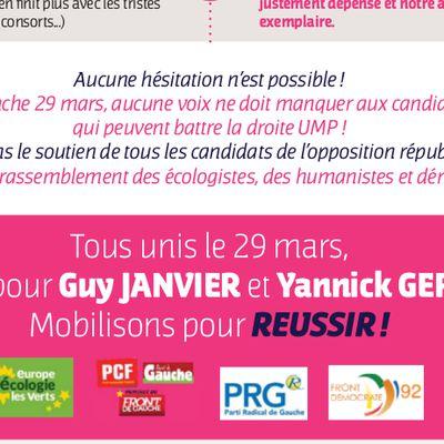 Le parti socialiste de Clamart et Vanves se livre à des manoeuvres scandaleuses !