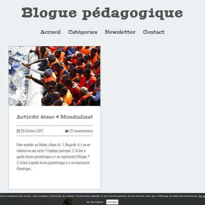 Blogue pédagogique