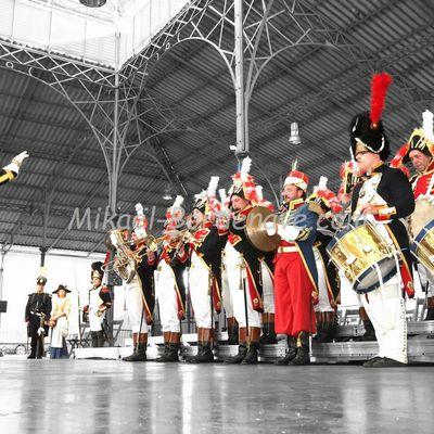 Commémoration du passage de l'Armée des Pyrénées en 1814 : Concert de la Musique Impériale de Waterloo à Vic-en-Bigorre, 3 juillet 2015