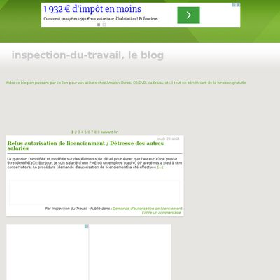 Le blog de l'Inspection du Travail (France)