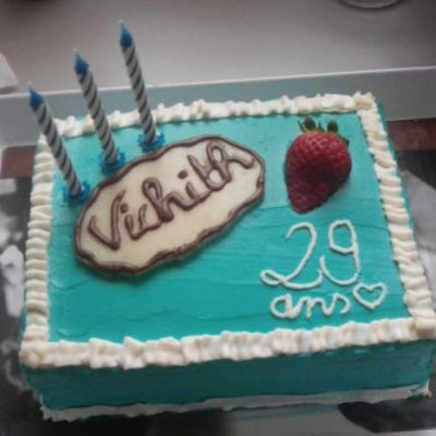 Blue cake!