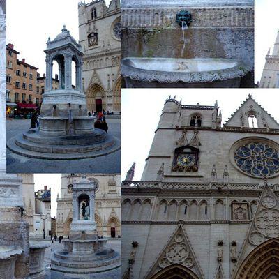 Les fontaines de Lyon