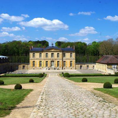 Le château de Villette à Condécourt, Val d'Oise