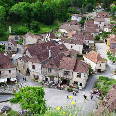 Saint-Cirq-Lapopie, un des beaux villages de France