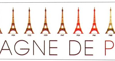 Les couleurs de la tour Eiffel