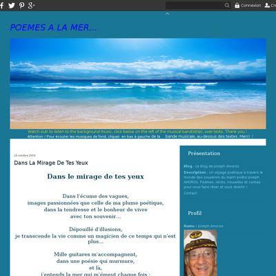 Le blog de Joseph Amoros
