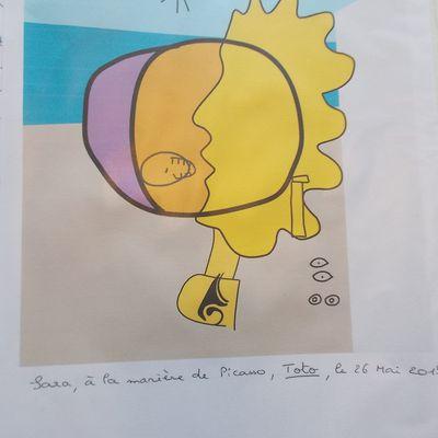 A la manière de ... Picasso