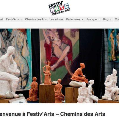 Le nouveau site internet de Festiv'Arts-Chemins des Arts est en ligne !