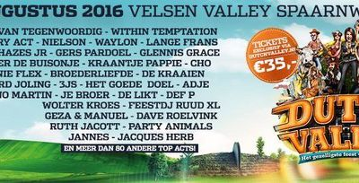 Within Temptation au Dutch Valley Festival 2016