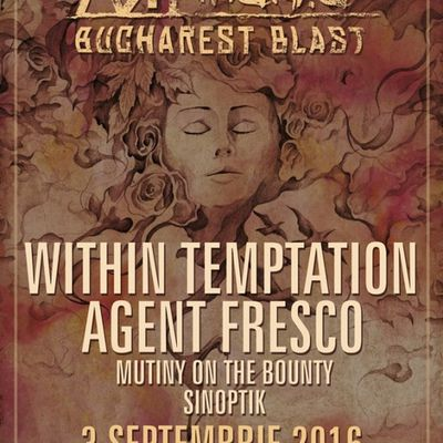 Within Temptation au Artmania Bucharest Blast Festival 2016