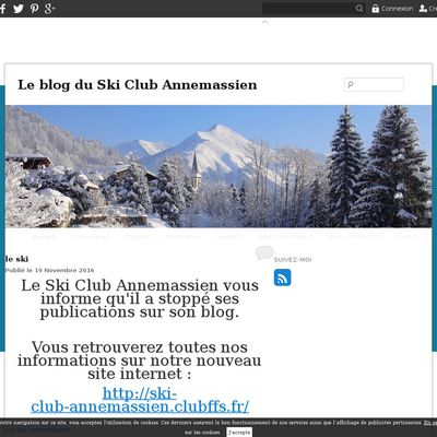 Le blog du Ski Club Annemassien