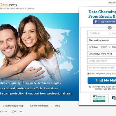 CharmigDate Homepage