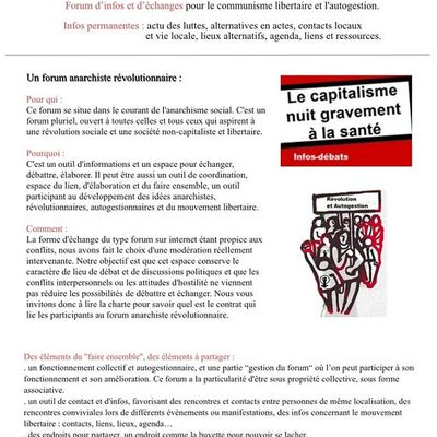 Forum Anarchiste Révolutionnaire