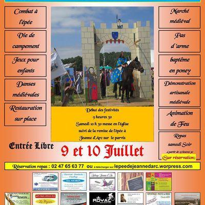 Sainte-Catherine-de-Fierbois 9 et 10 juillet 2016