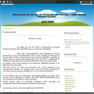 Le blog de l'AECMM