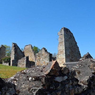Le silence d'Oradour-sur-Glane