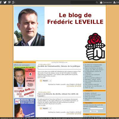 Le blog de Frédéric Leveillé