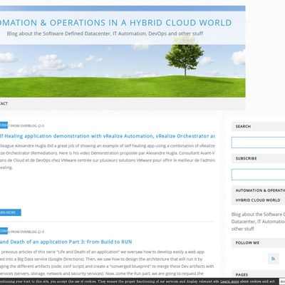 Automation & Operations in a Hybrid Cloud world