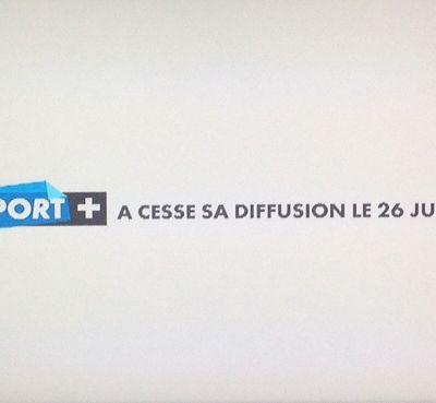 Et l'arrêt de Sport+, on en parle ?