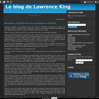Le blog de Lawrence King