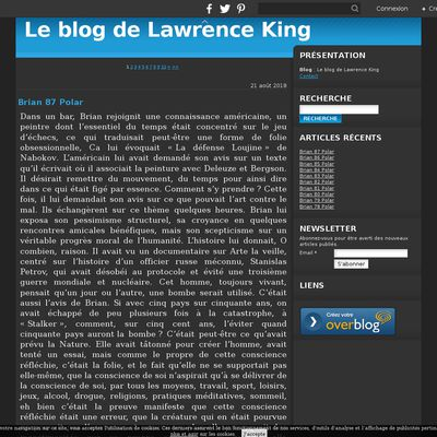 Le blog de Lawrence King