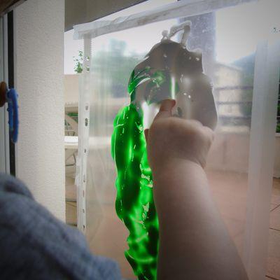 La peinture propre de Mini  #activité