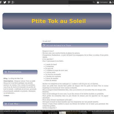Le blog de Ptite Tok