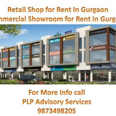 Retail space for Rent in Gurgaon ||9873498205