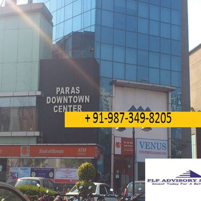 Office space for lease-rent in paras downtown center Gurgaon:9873498205