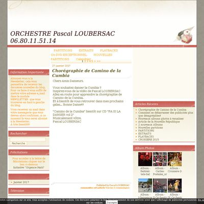 ORCHESTRE Pascal LOUBERSAC 06.80.11.51.14