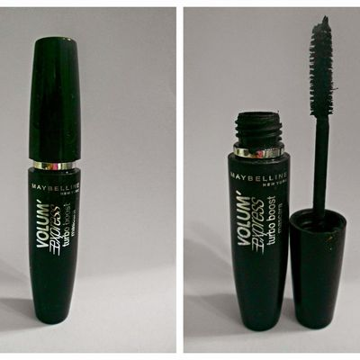 "REVIEW MASCARA MAYBELLINE  ""Volum' Express Turbo Boost"""