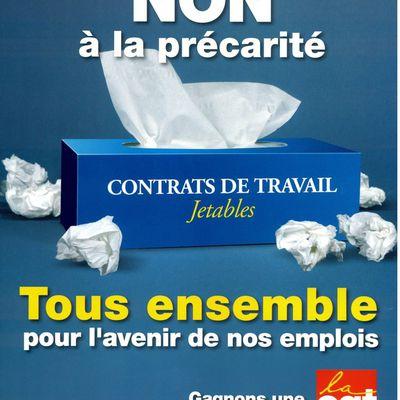 *La Poste Saint-Gaudens, pour que les CDD aient un avenir !*