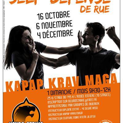 La Self-Défense c'est aussi pour les femmes à Besançon