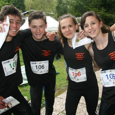 "Champions de France UNSS de Course d'Orientation 2016 ""Excellence"" !!!"