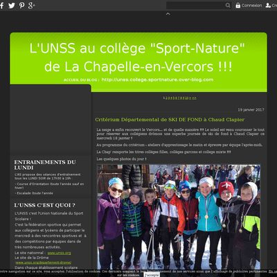 Le blog de unss.college.sportnature.over-blog.com