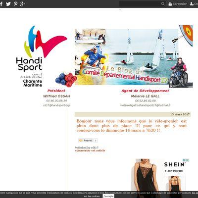 Comité Départemental Handisport 17